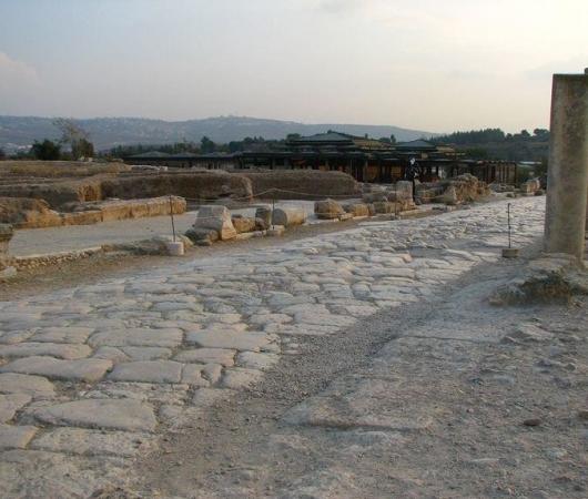 Римские города и еврейский некрополис (Скитополис, Циппори, Бейт Шеарим)