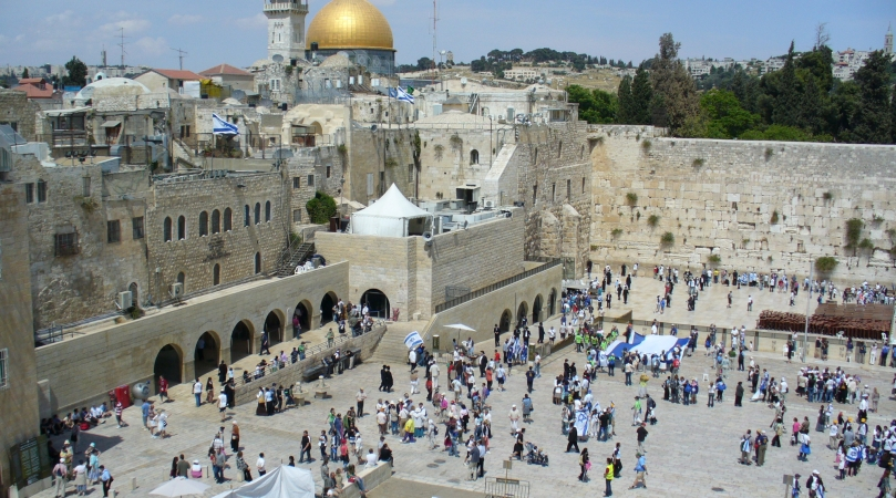 Стена плача Иерусалим