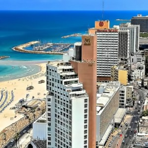 Пляжи тель-авива Израиль