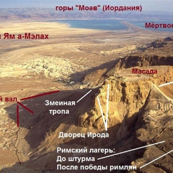 Иудейская пустыня и мертвое море